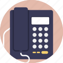 business telephone, landline, office phone, telecommunication, telephone icon