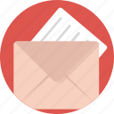 correspondence, email, letter, mail, messaging icon