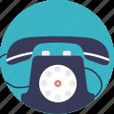 communication device, landline, phone, retro telephone, telephone