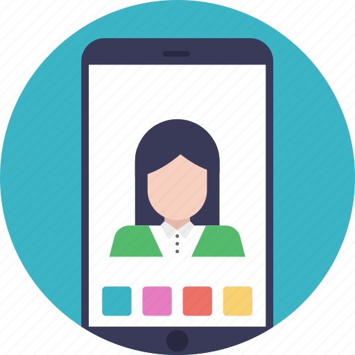 online communication system, video call, video call application, video call software, video chat icon