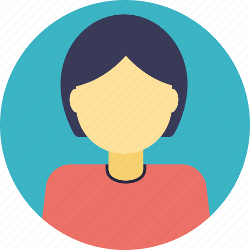 faceless woman, female avatar, official, personification, woman, woman avatar icon