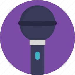 mic, microphone, music, singing, vintage microphone icon