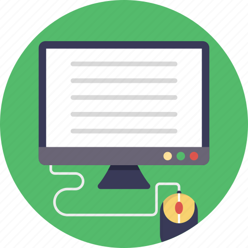 computer, computer operating, computing, pc, personal computer icon