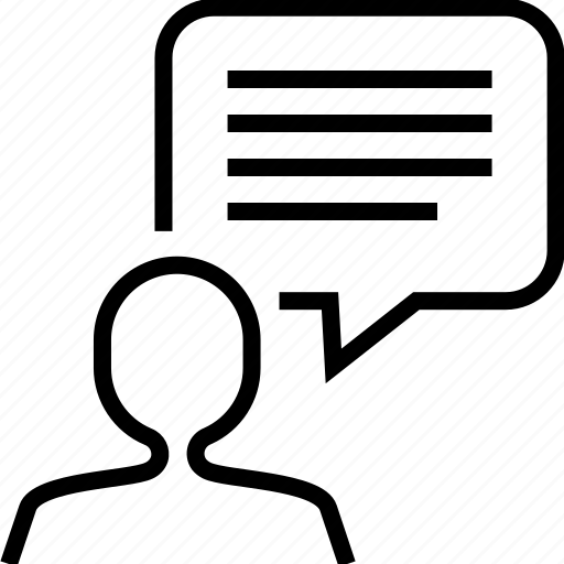 chat, communication, message, speech bubble icon