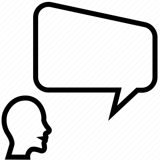 chat, communication, conversation, speech bubble icon