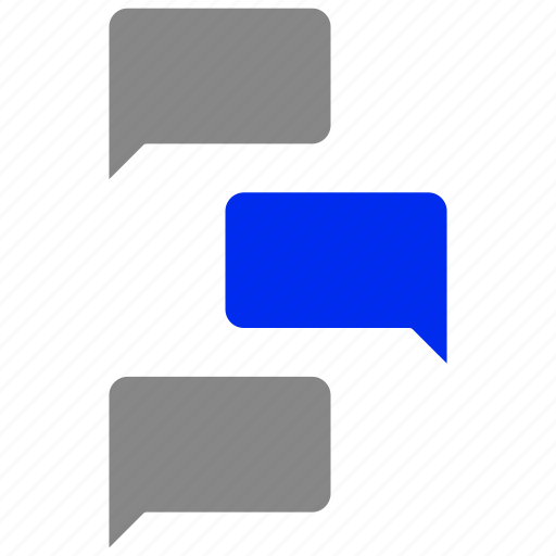 chatting, conversation, dialogue, speech, talking icon