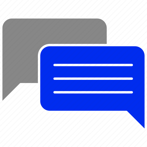 bubble, chatting, conversation, sms, speech, talking icon