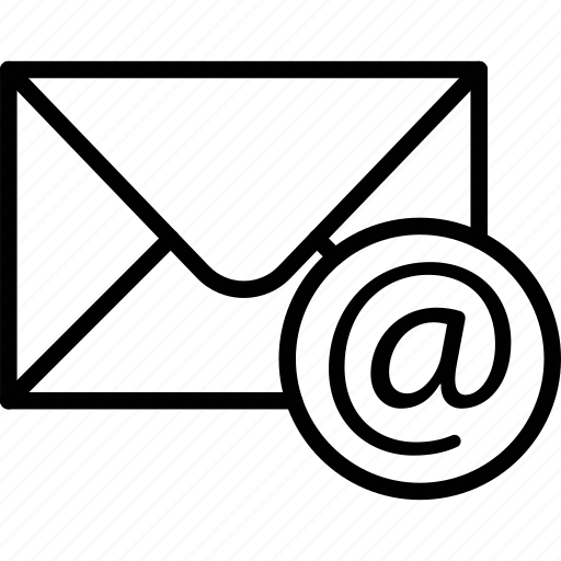 communication, email, letter, mail icon
