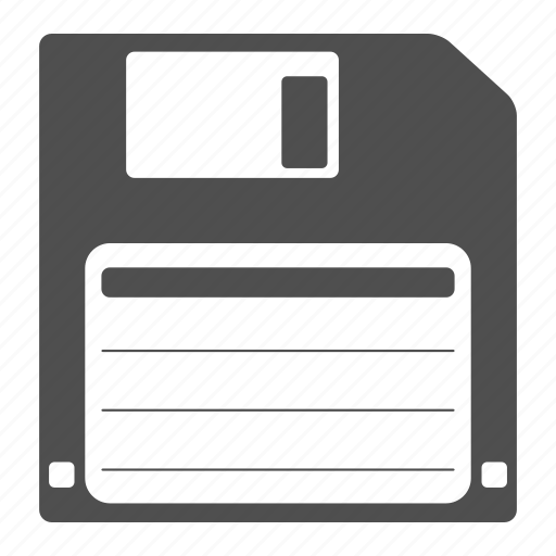 Floppy, disk, download, save, storage, guardar icon