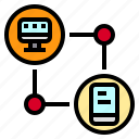 communication, computer, device, mobile, phone icon