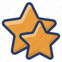feedback, quality, rating, review, stars, testimonial icon