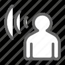 bubble, chat, communication, conversation, listener, message