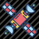 satellite, antenna