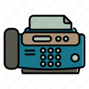 device, connection, contact, fax