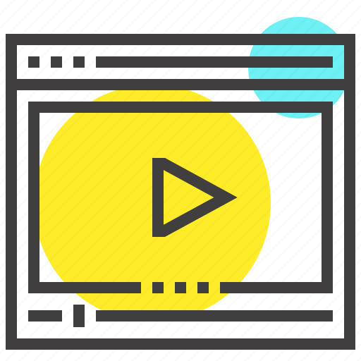 Film, media, movie, multimedia, play, video, web icon - Download on Iconfinder
