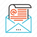 communication, connection, email, interaction, mail, message icon