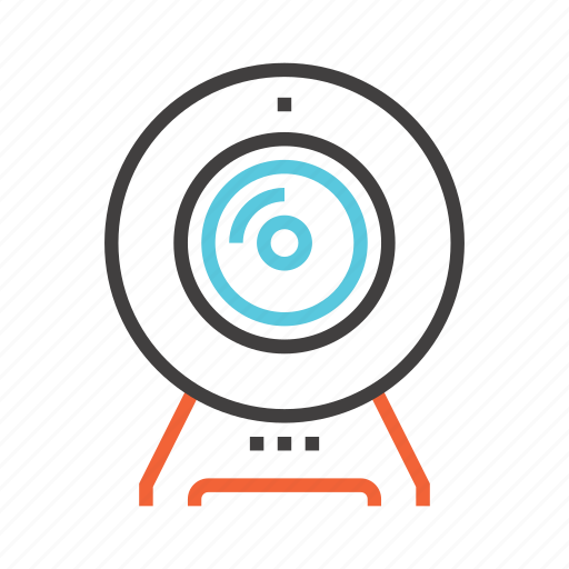 camera, chat, communication, internet, video, web icon