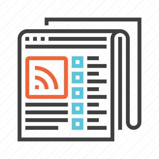 communication, feed, interaction, message, network, rss, social icon
