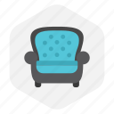 chaire, chaise, house, interior icon