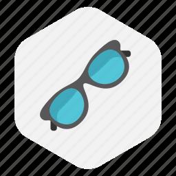 glass, glasses, zoom icon