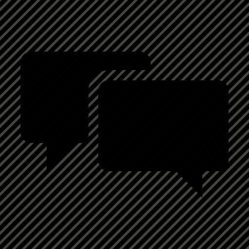 bubbles, chat, chat bubbles, message, messages, talk, talking icon