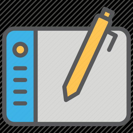 communication, design, drawing, media, pad icon