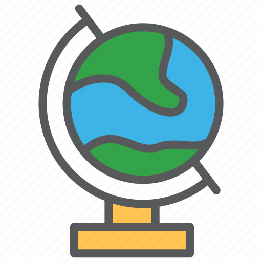 communication, earth, education, globe, learning, media icon