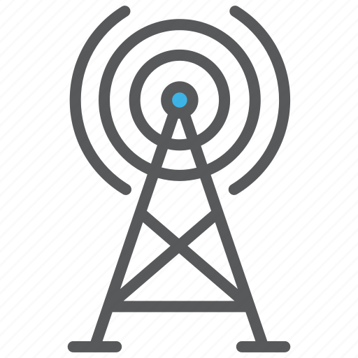Communication, media, signal, tower icon - Download on Iconfinder