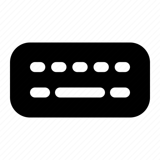 keyboard, virtual icon