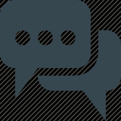 bubbles, chat, comment, conversation, email, message, talk icon