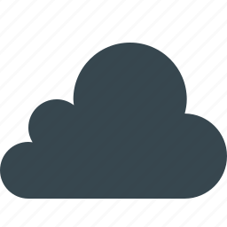 cloud, cloudy, computing, data, database, internet, weather icon