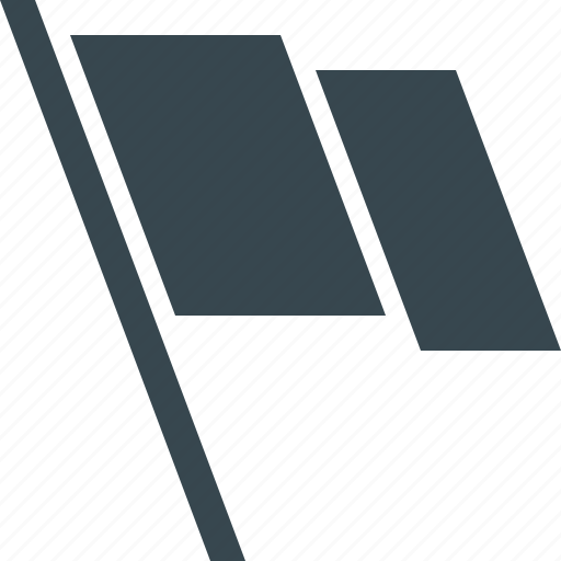 flag, location, map, marker, pin, point, pointer icon