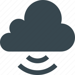 cloud, cloudy, connection, data, link, network, server icon