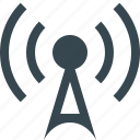 antenna, communication, connection, internet, network, radio, wireless icon