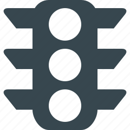 light, road, sign, traffic, traffic light, transport, transportation icon