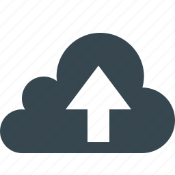 cloud, cloudy, connection, data, network, social, upload icon