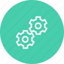 configuration, construction, gears, repair, settings, tool, work icon