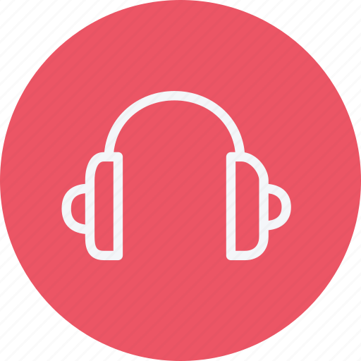 audio, headset, media, multimedia, music, player, volume icon