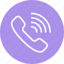 call, communication, interaction, network, phone, telephone, volume icon