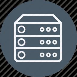 cloud, data, hosting, internet, server, storage, web icon