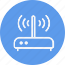 broadband, modem, network, router, technology, wifi, wireless icon