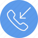 call, communication, contact, interaction, outgoing, phone, telephone icon