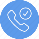 call, communication, interaction, network, phone, talk, telephone icon