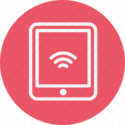 communication, device, interface, mobile, smartphone, tablet, wifi icon