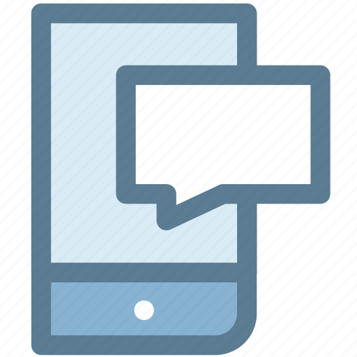 chat, communication, conversation, message, mobile, sms, text message icon