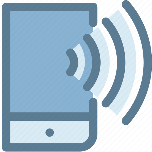 cell phone, communication, conversation, mobile, mobile phone, signals, smartphone icon