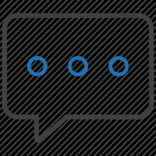 bubble, comment, communication, message icon