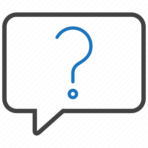 ask, bubble, help, question icon