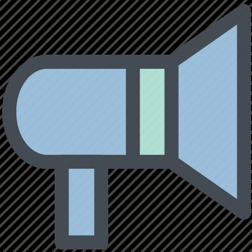 communication, megaphone, noise, sound, speaker, tech, volume icon