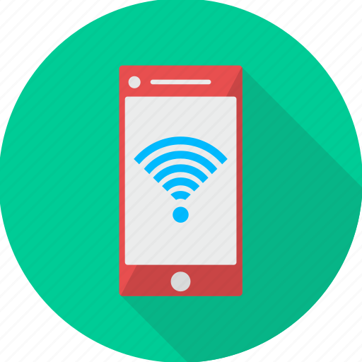 communication, internet, mobile, network, phone, signal, wifi icon